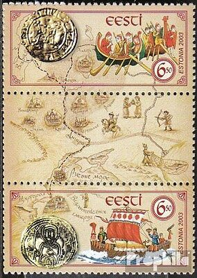Estonia 470-471 triple strip (complete.issue.) unmounted mint / never hinged 200