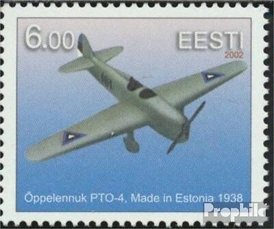 Estonia 433 (complete.issue.) unmounted mint / never hinged 2002 Aircraft