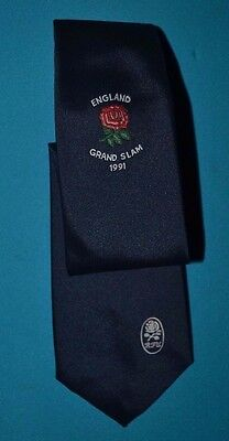 England Grand Slam 1991 Rugby Union Tie