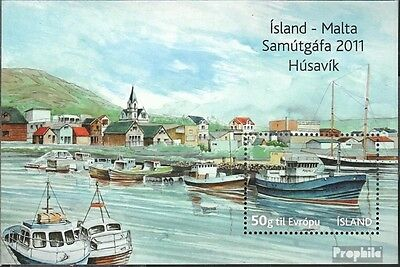 Iceland block54 (complete.issue.) unmounted mint / never hinged 2011 Malta