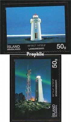Iceland 1308-1309 (complete.issue.) unmounted mint / never hinged 2011 Lighthous