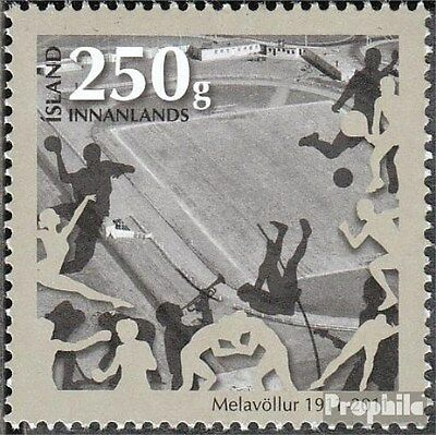 Iceland 1322 (complete.issue.) unmounted mint / never hinged 2011 Sportplatz