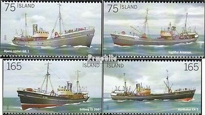 Iceland 1269-1272 (complete.issue.) unmounted mint / never hinged 2010 Fisheries