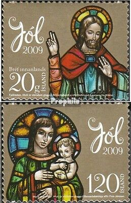 Iceland 1255-1256 (complete.issue.) unmounted mint / never hinged 2009 christmas