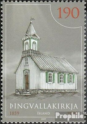 Iceland 1254 (complete.issue.) unmounted mint / never hinged 2009 Church