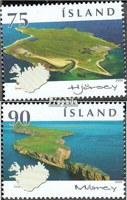 Iceland 1219-1220 (complete.issue.) unmounted mint / never hinged 2009 Islands