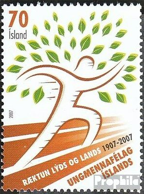 Iceland 1161 (complete.issue.) unmounted mint / never hinged 2007 UMFI