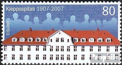 Iceland 1183 (complete.issue.) unmounted mint / never hinged 2007 hospital