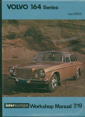 Volvo 164 & 164E Saloon ( 1968 - 1972 ) Owners Workshop Manual