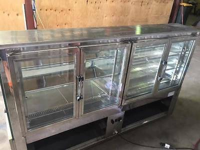 FED Equipment Commercial Pie Warmer Display Bakery Cafe
