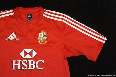 British and Irish Lions Adidas Rugby Union Jersey Shirt South Africa 2009 SMALL