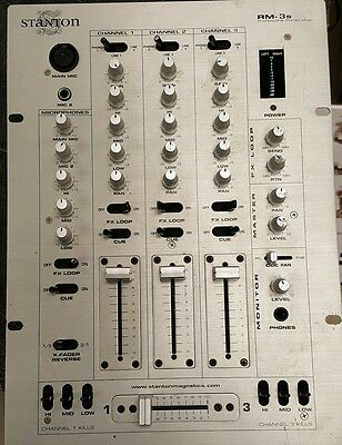Stanton RM-THREE RM-3 Professional Stereo Mixer Excellent Working Condition
