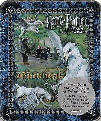 Harry Potter Prisoner Of Azkaban Poa 2004 Artbox Collectible Tin 4 Pks Buckbeak