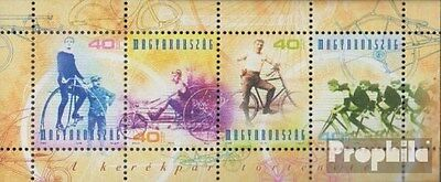 Hungary block268 (complete.issue.) unmounted mint / never hinged 2002 Bicycle