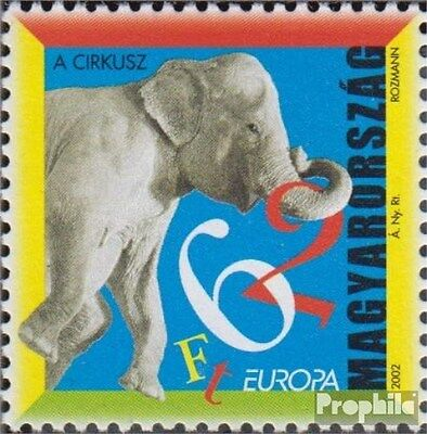 Hungary 4727 (complete.issue.) unmounted mint / never hinged 2002 Circus