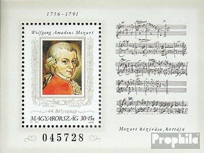 Hungary block216a (complete.issue.) unmounted mint / never hinged 1991 Mozart