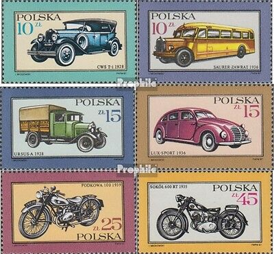 Poland 3092-3097 (complete.issue.) unmounted mint / never hinged 1987 Cars and M