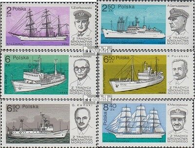 Poland 2699-2704 (complete.issue.) unmounted mint / never hinged 1980 Training s