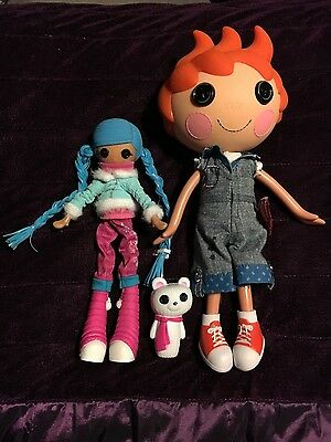 lalaloopsy large boy doll with small girl bundle