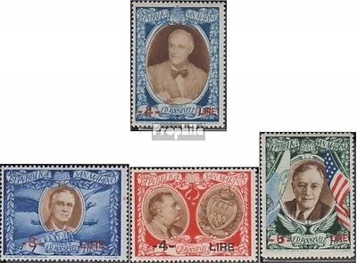 San Marino 370-375 (complete.issue.) fine used / cancelled 1947 Franklin Rooseve