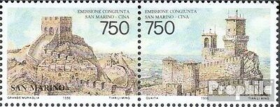 San Marino 1652-1653 Couple (complete.issue.) unmounted mint / never hinged 1996