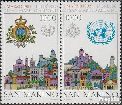 San Marino 1514-1515 Couple (complete.issue.) unmounted mint / never hinged 1992