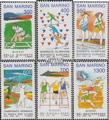 San Marino 1525-1530 (complete.issue.) unmounted mint / never hinged 1993 Sports
