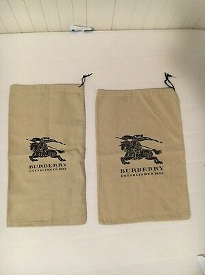 2 Burberry Dust Bag (good For Shoes)