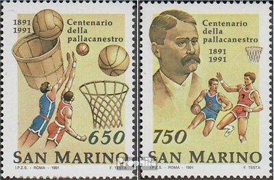 San Marino 1477-1478 (complete.issue.) unmounted mint / never hinged 1991 Basket