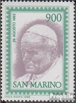 San Marino 1264 (complete.issue.) unmounted mint / never hinged 1982 Johannes Pa