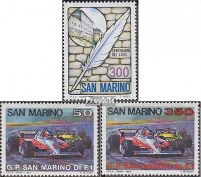 San Marino 1277,1282-1283 (complete.issue.) unmounted mint / never hinged 1983 G