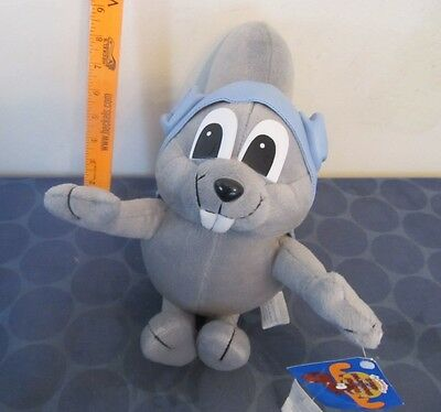 Rocky and Bullwinkle 15 inch Rocky Plush NEW WITH TAG 2000 Toy Network