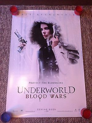 UNDERWORLD BLOOD WARS 2 x OFFICIAL CINEMA ONE SHEET POSTERS