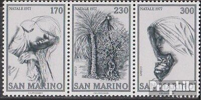San Marino 1150-1152 triple strip (complete.issue.) unmounted mint / never hinge