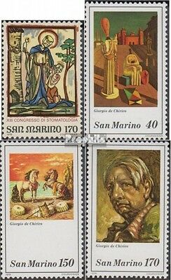 San Marino 1187,1198-1200 (complete.issue.) unmounted mint / never hinged 1979 S