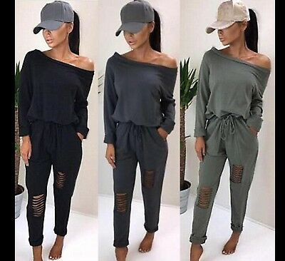 Women Tracksuit Jogging Lounge Wear 2pcs Suit  Hoodies Sweatshirt Pant Set Sport