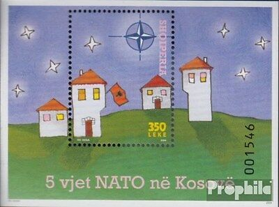 Albania Block156 (complete.issue.) unmounted mint / never hinged 2004 NATO in ko