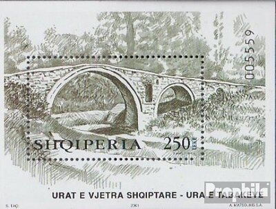 Albania block136 (complete.issue.) unmounted mint / never hinged 2001 Bridges