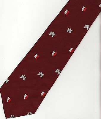 Castle with Red / White Shield Crest Club Tie