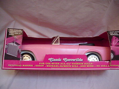 NEW IN BOX R0LLS ROYCE by ZIMA  BARBIE SIZE CONVERTIBLE RARE FIND
