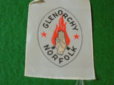 1960's Australian Scout Badge, G2 Glenorchy Norfolk District, Two Stars now EXT.