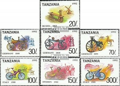 Tanzania 1445-1451 (complete.issue.) unmounted mint / never hinged 1992 History