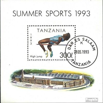 Tanzania block212 (complete.issue.) unmounted mint / never hinged 1993 Sports