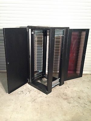"27RU 19"" Free Standing Comms/Data Cabinet"