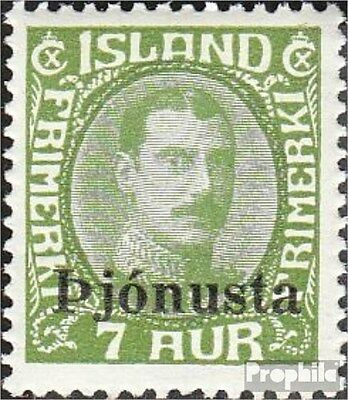 Iceland D63 unmounted mint / never hinged 1936 print edition service marks