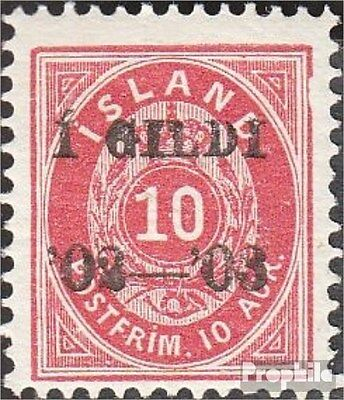 Iceland 28B unmounted mint / never hinged 1902 print edition