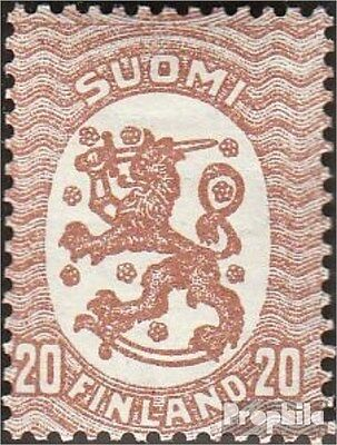 Finland 113X A fine used / cancelled 1925 clear brands: Crest