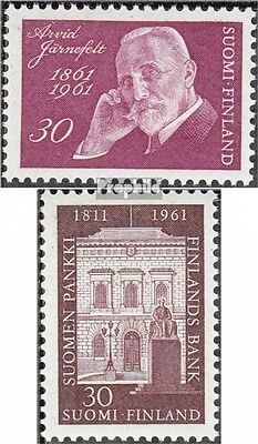 Finland 541,542 (complete.issue.) unmounted mint / never hinged 1961 Järnefelt,