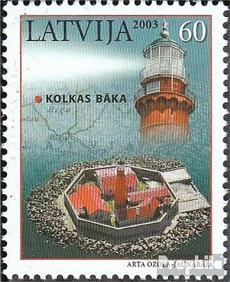 Latvia 591 (complete.issue.) unmounted mint / never hinged 2003 Lighthouse