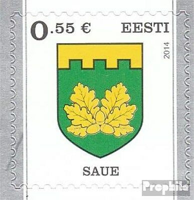 Estonia 806 (complete.issue.) unmounted mint / never hinged 2014 Crest